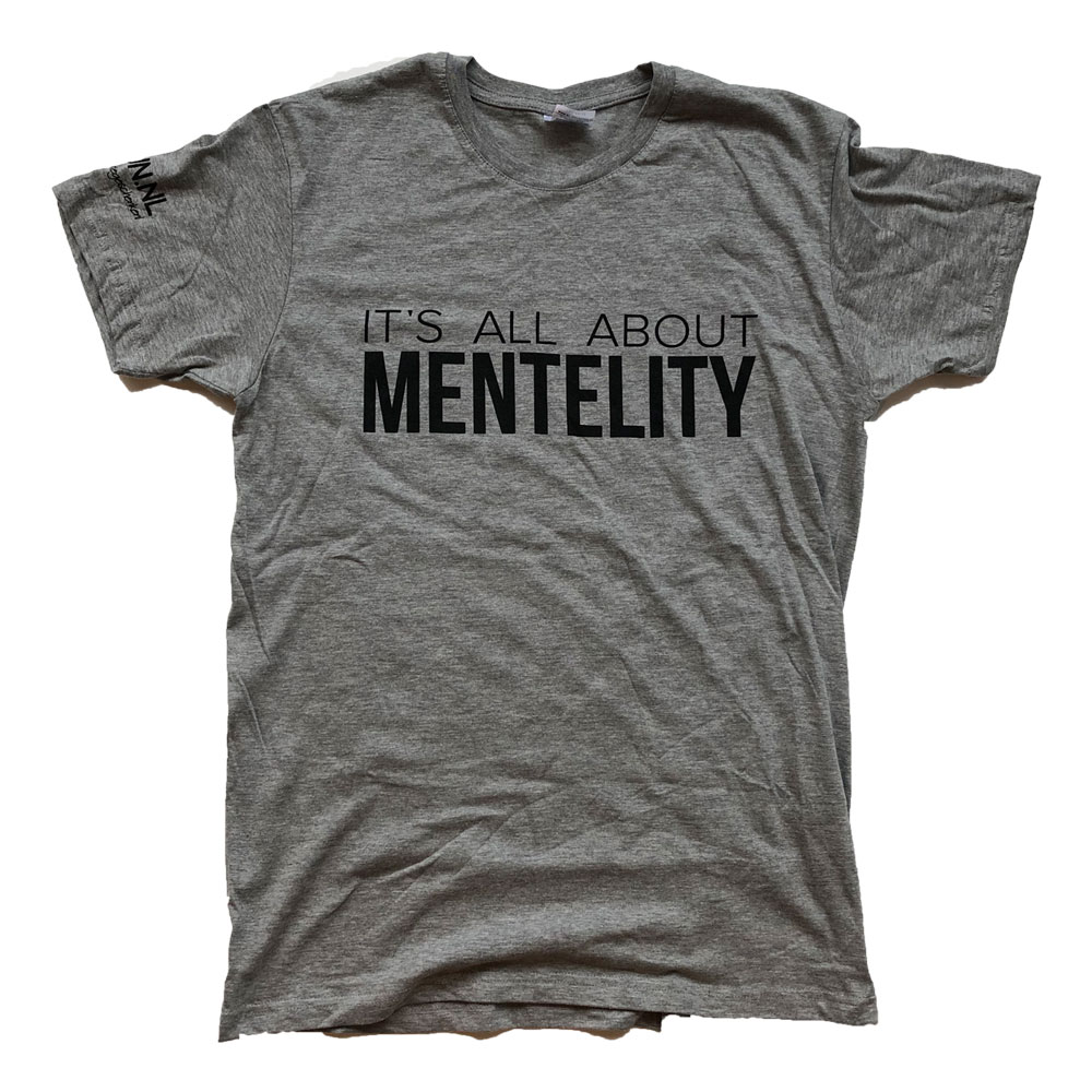 Shop nu: It's All About Mentelity shirt